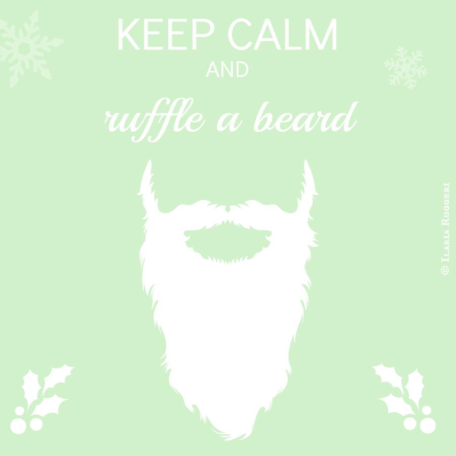 keep calm e ruffle a bear Ilaria Ruggeri