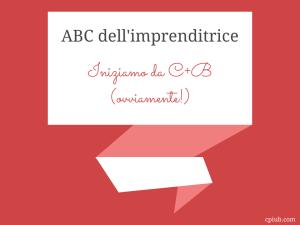 Abc dell'imprenditrice