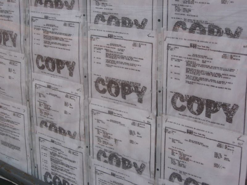 copy notice