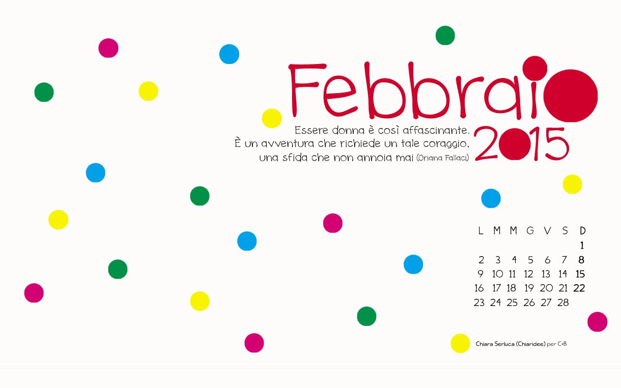 Febbraio 2015 Chiaridee