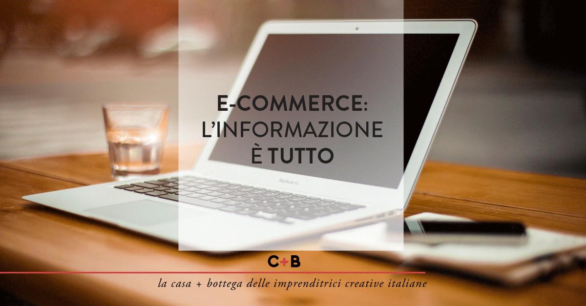 Normativa e-commerce: l'informazione è tutto