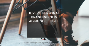 Personal Branding versione Less is More