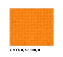 Arancione in formula CMYK