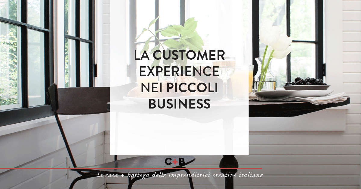 La customer experience nei piccoli business