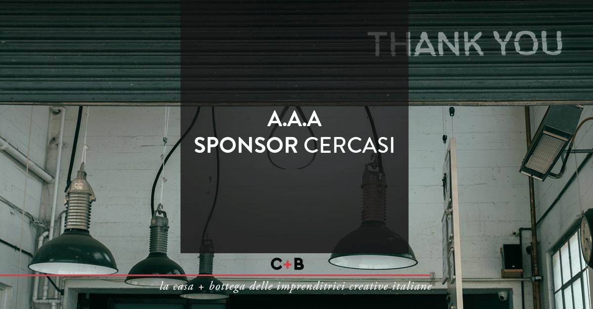 AAA Sponsor cercasi