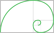 Spirale e serie di Fibonacci