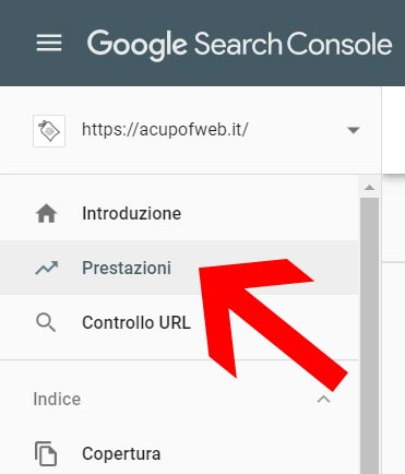 tutorial google search console prestazioni