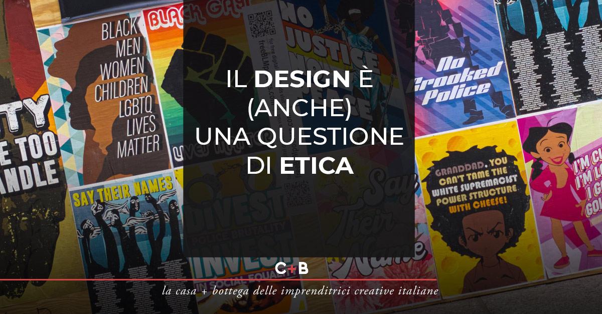 Il design è (anche) una questione di etica
