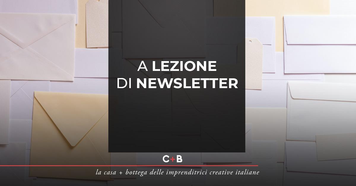 A lezione di newsletter