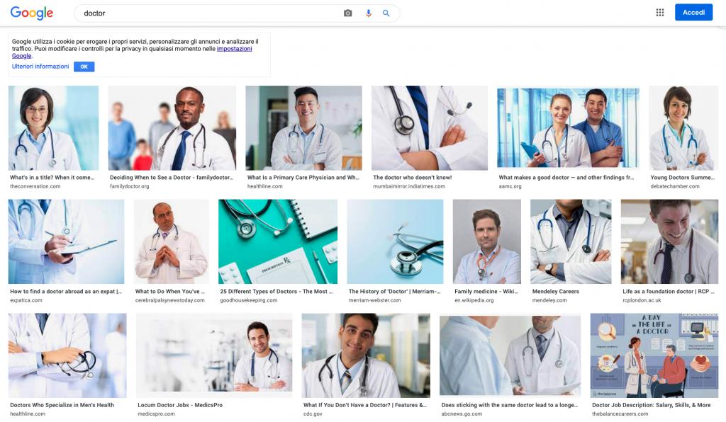 Slide e inclusione: doctor