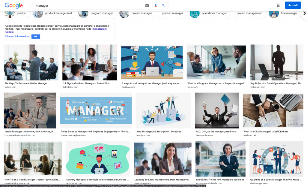 Slide efficaci e inclusive: manager